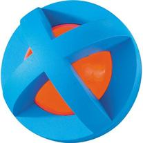 Multi-Pet Plastic and Rubber Boingo Ball Dog and Cat Toy,