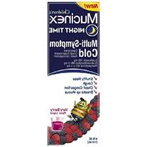 Mucinex Children's Multi-Symptom Cold Liquid Night Time,