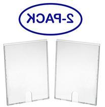 Acrimet Multi-use Sign Holder Board - Letter Size - 2-pack