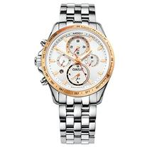 Jiusko Mens Multifunction Quartz Tachymeter Chronogaph Two