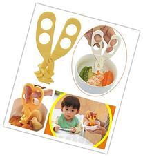 Edealing 1PCS Multifunctional Baby Food Cutter Scissors
