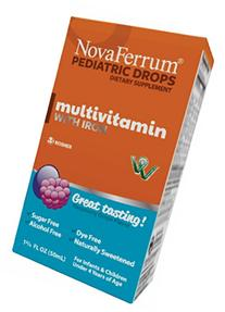 NovaFerrum Multivitamin with Iron Supplement for Infants and