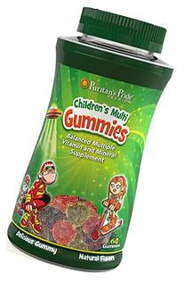 Puritan's Pride Children's Multivitamins & Minerals Gummies-