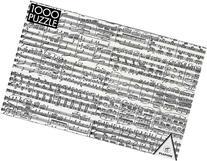 Music, 1000 Piece Puzzle