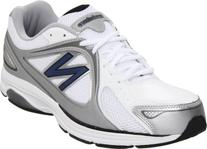 New Balance Men's MW847 Health Walking Shoe,White,11 D US