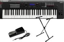 Yamaha MX61 61 Key Music Synthesizer/Controller w/Stand and