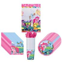 My Little Pony Friendship Party Supplies Pack Including