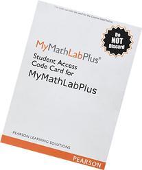 MyMathLab Plus -Standalone Access Card, 2/e