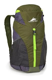 High Sierra Pack-N-Go 2 20L Sport Backpack, Moss/Mercury/