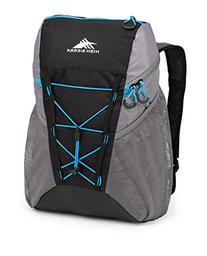 High Sierra Pack-N-Go 2 18-Liter Sport Backpack, Black/