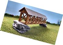 Train Time Laser N Scale Laser Cut Covered Bridge Kit