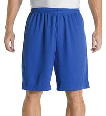"A4 9"" Power Mesh Shorts, Black, Large"