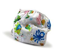 Beau & Belle Littles Reusable Baby Swim Diapers, Sea