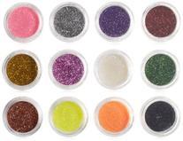 Nail Art Glitter x 5 Set