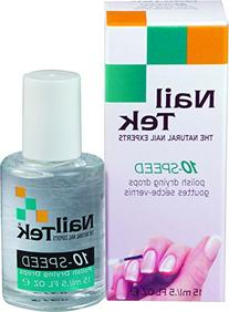 Nailtek for all nail types 10-Speed Drying Drops, 0.5 Fluid
