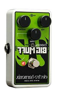 Electro-Harmonix Nano Bass Big Muff Distortion Bass Effects