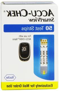 Accu-Chek Nano Smart View Test Strips, 50 Count