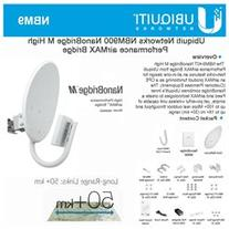 Ubiquiti 900Mhz NanoBridge M9, Airmax, 13dBi Antenna