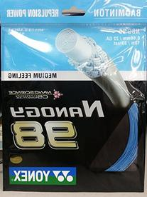 Yonex Nanogy 98 Medium Feeling Badminton String Blue