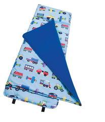 Wildkin Nap Mat - Olive Kids Planes, Trains & Trucks