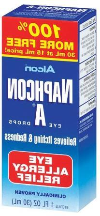 Alcon Naphcon Eye Drops, Allergy Relief 15 ml