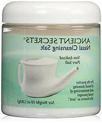 Ancient Secrets Nasal Cleansing Pot Salt - 10 Oz, Pack of 3