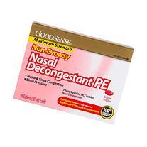 GoodSense Nasal Decongestant Phenylephrine HCl 10 mg tablets