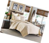 Tommy Bahama Home Nassau Ivory King Quilt Bedding