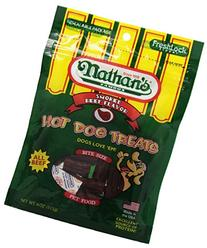 Nathan's Famous Hot Dog Treats, All Beef, 4-Ounce Bags