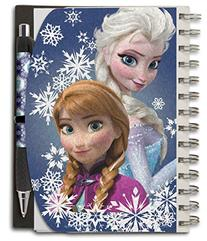 National Design Disney Frozen Anna and Elsa Metallic Deluxe
