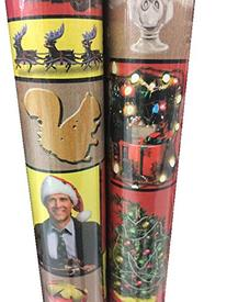 National Lampoon's Christmas VACATION ~ Gift Wrap ~ 40 Sq.