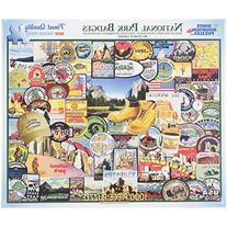 White Mountain Puzzles National Park Badges - 1000 Piece