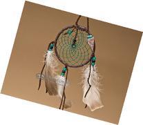 """Native American Dream Catcher 4"""" -Green"""