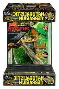 "Naturalistic Terrarium Crested Gecko Kit 12""x12""x18"