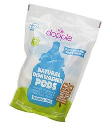 Dapple Naturally Clean Auto Dishwasher Pods, 25 Count