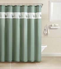 Blue Lagoon by Naturally Home-3 Piece Shower Curtain Set