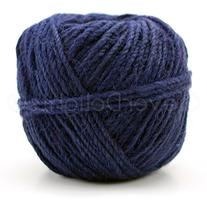 CleverDelights Navy Blue Jute Twine - 100 Yards - 2mm