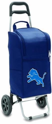 NFL Detroit Lions Insulated Cart Cooler with Wheeled Trolley