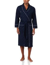 Nautica® Men's Navy 'J-Class' Woven Robe