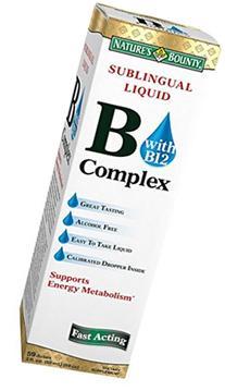 Nb B Complex Liq Sublngua Size 2z