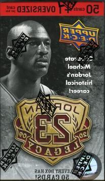 NBA 2009 Michael Jordan Legacy Set Trading Cards - 50