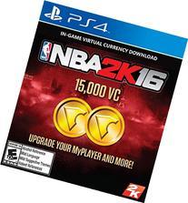 NBA 2K16 - 15,000 VC - PlayStation 4