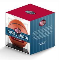 BallQube Grand Stand Basketball / Holder Acrylic Display