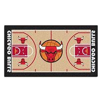 FANMATS NBA Chicago Bulls Nylon Face NBA Court Runner-Small