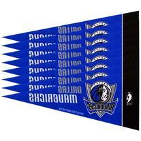 "NBA Dallas Mavericks Royal Blue 8-Pack 4"" x 9"" Mini Pennant"