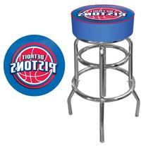 NBA Detroit Pistons Padded Swivel Bar Stool