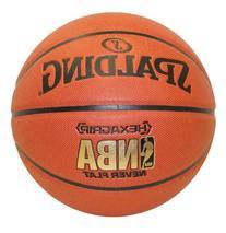 Spalding NeverFlat NBA Hexagrip Indoor/Outdoor Basketball,