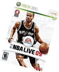 NBA Live 09 - Xbox 360