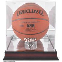 NBA Logo Basketball Display Case NBA Team: Chicago Bulls,