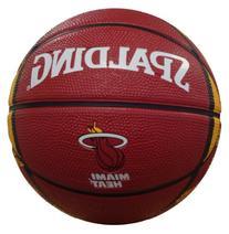 NBA Miami Heat Mini Basketball, 7-Inches